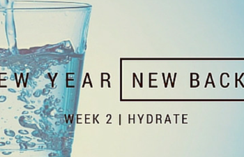 New Year, New Back - Week 2 | Hydrate