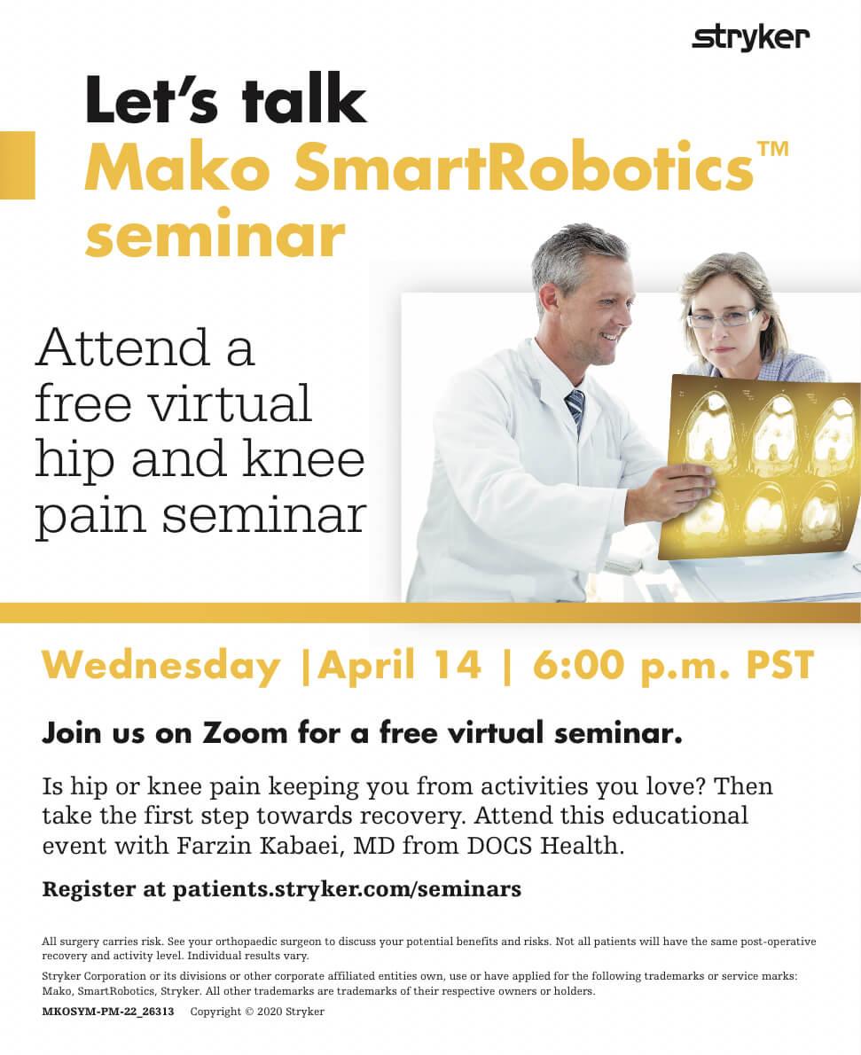 """""""Virtual Seminar"""" flyer"""